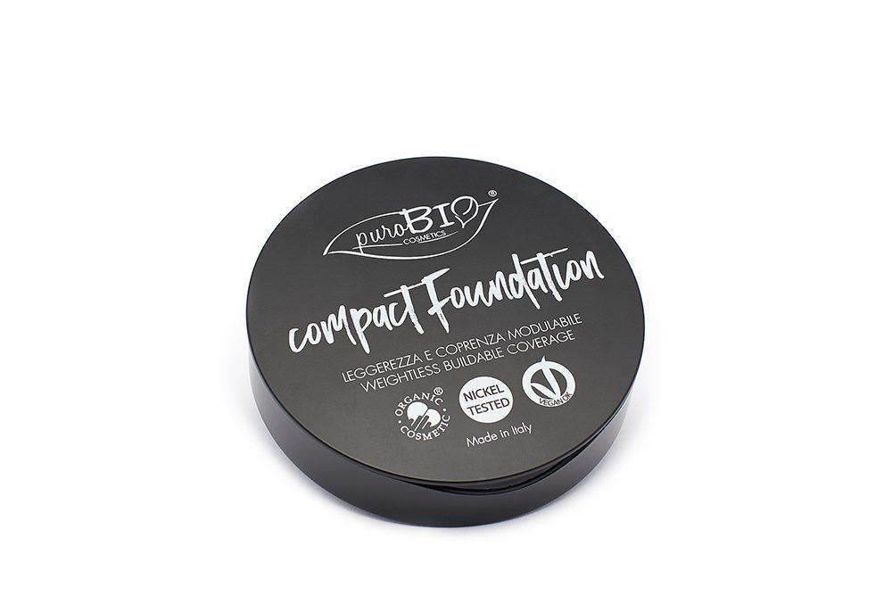 PuroBio Cosmetics Fondotinta compatto recensione
