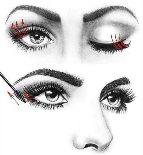 come mettere il mascara effetto ciglia finte