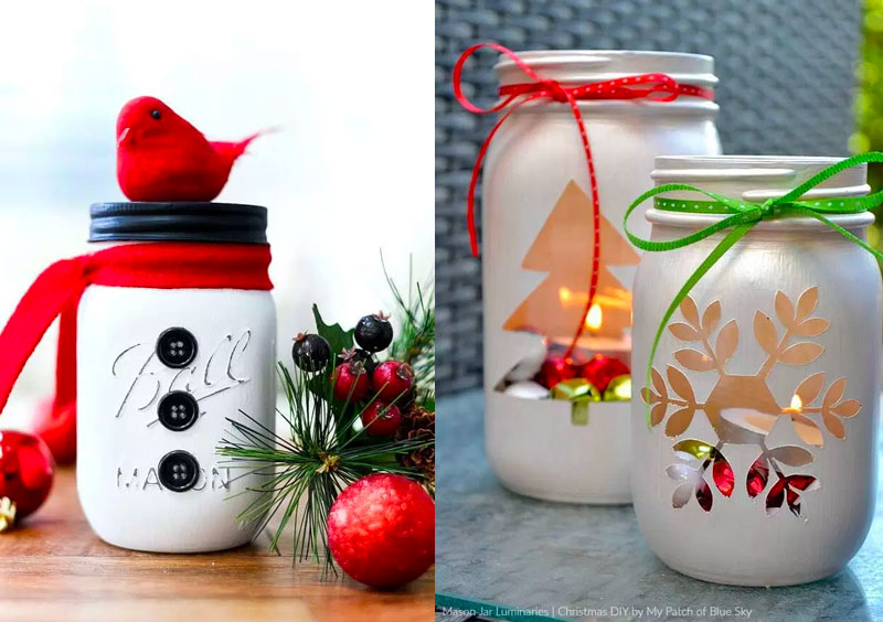 Fai Da Te Regali Di Natale.Idee Regalo Natale Fai Da Te Facili Le Mason Jar