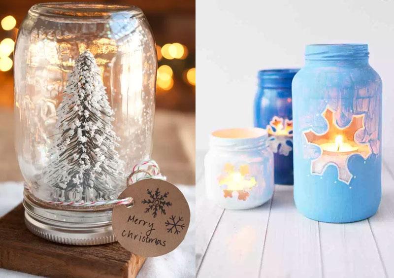 Idee regalo Natale fai da te facili: le Mason Jar | MYBEAUTYPEDIA